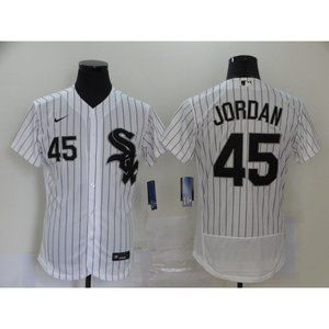 Chicago White Sox Michael Jordan White Jersey (2)